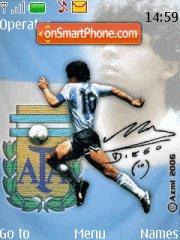 Diego Maradona theme screenshot