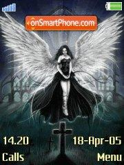 Black Angel theme screenshot