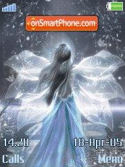 Blue Princess theme screenshot