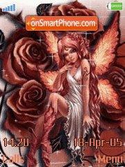 Rose Fairy theme screenshot