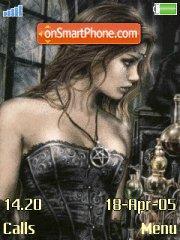 Viktoria Frances theme screenshot