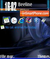 Скриншот темы Abstrak V1