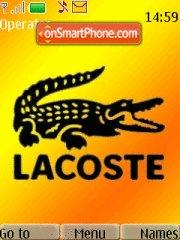 Скриншот темы Lacoste For Him