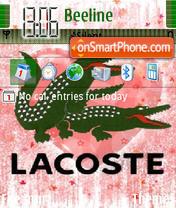 Lacoste 571 theme screenshot