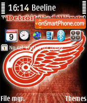 Detroit Red Wings 02 es el tema de pantalla