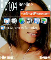 Alizee 06 theme screenshot