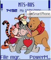 Winnie the Pooh and Friends theme screenshot