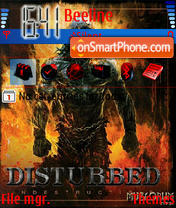 Disturbed theme screenshot