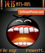 Black Smile 01 es el tema de pantalla