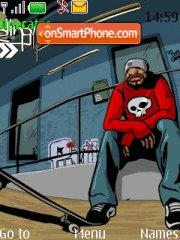 Skate theme screenshot