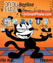 Felix Cat 01 theme screenshot