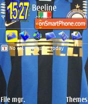 Intermilan theme screenshot