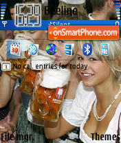 Heineken theme screenshot