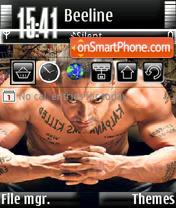 Скриншот темы Aamir