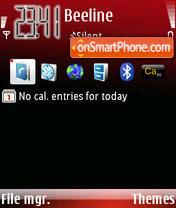 RedPassion theme screenshot