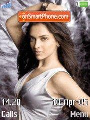 Deepika Padukone 02 tema screenshot