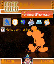 Mickey Mouse 07 theme screenshot