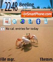 Crab theme screenshot