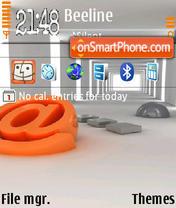 Скриншот темы Email 01