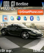 Porsche Cayman theme screenshot