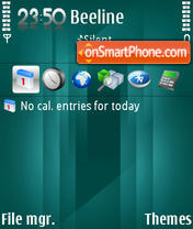 Reflexremix theme screenshot