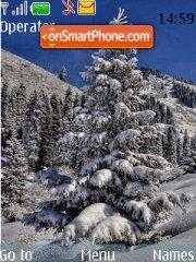 Скриншот темы Nice Winter
