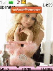Avril Lavigne es el tema de pantalla