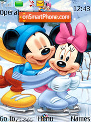 Mickeyminnie 02 theme screenshot
