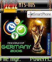 FIFA World Cup Germany 2006 theme screenshot