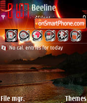 Before the Storm 01 theme screenshot