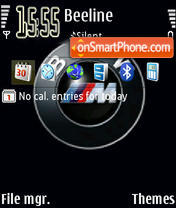 Скриншот темы Bmw M3 Logo