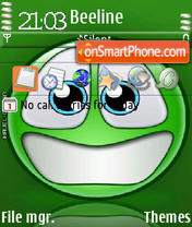 Smilecool theme screenshot