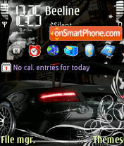 Aston Martin 11 theme screenshot