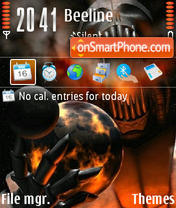 Gehenna v1.2 theme screenshot