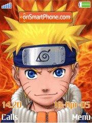 Naruto and Friends es el tema de pantalla