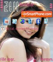 Minissha Lamba theme screenshot