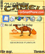 Camel F theme screenshot