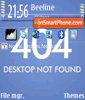 Desktop theme screenshot