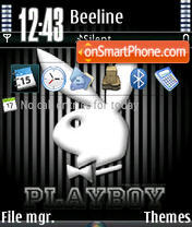 Playboy V2 theme screenshot