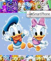 Скриншот темы Disney Color