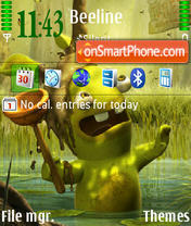 Toilet)) theme screenshot