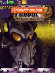 Fallout 2 theme screenshot