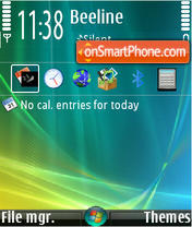 Vista v2 theme screenshot