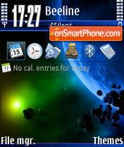 Скриншот темы World V2