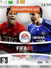 Fifa 09 01 theme screenshot