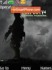 Call Of Duty 4 01 theme screenshot