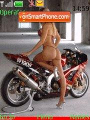 Bikebabes es el tema de pantalla