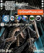 Скриншот темы Evil Skull 02