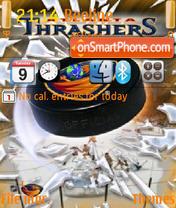 Atlanta Thrashers 02 theme screenshot