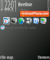Samsung theme tema screenshot